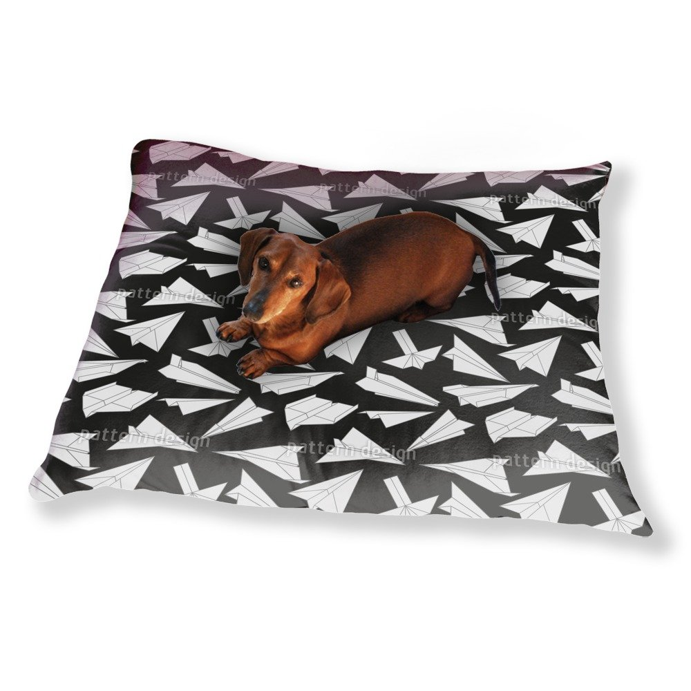 Paper Gliders In Action Dog Pillow Luxury Dog / Cat Pet Bed