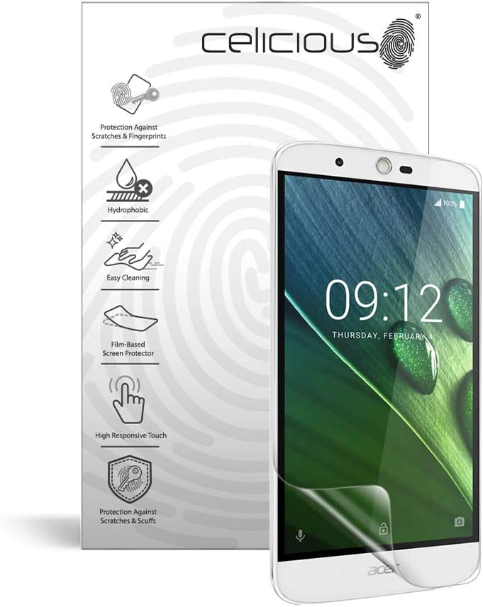 Celicious Impact Anti-Shock Shatterproof Screen Protector Film Compatible with Acer Liquid Zest Plus