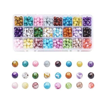 200pcs LOVELY DRAWBENCH 6mm acrylic beads craft embellishments wholesale