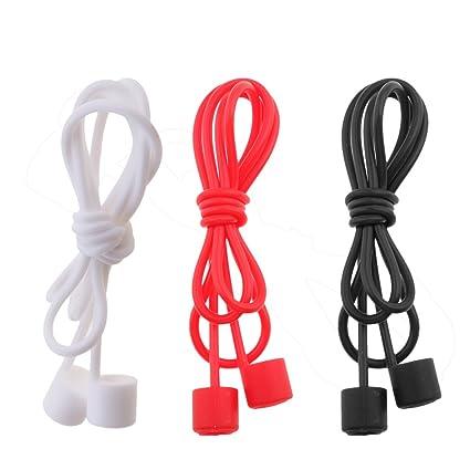 IPOTCH 3 pcs de Cuerdas Cables de Auriculares sin Cable Compatible con Apple Airpods de Negro