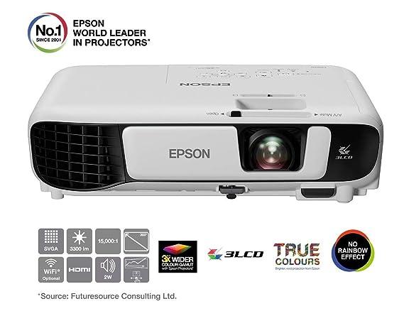 Epson EB-S41 Video - Proyector (3300 lúmenes ANSI, 3LCD, SVGA ...