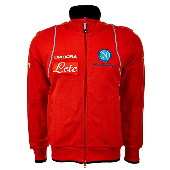 Diadora - Chandal, diseño del Nápoles FC rojo Red - red Talla ...