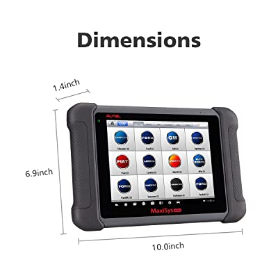 Autel Maxisys MS906 is an diagnostic tool that has an user-friendly dimensions