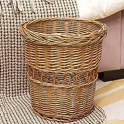 Wicker Waste Baskets