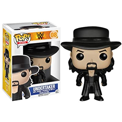 Funko Pop! WWE: The Undertaker Figure: Funko Pop! Wwe:: Toys & Games