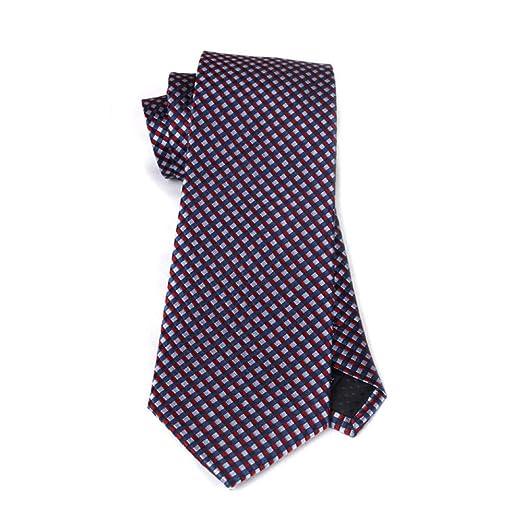 Yyzhx Collar Hombre Corbata de Seda de Seda de Morera de Seda Nudo ...