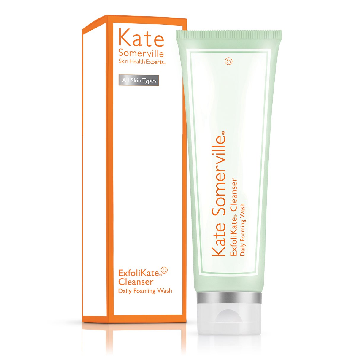Kate Somerville ExfoliKate Cleanser Daily Foaming Wash – Facial Cleanser 4.0 Fl. Oz.