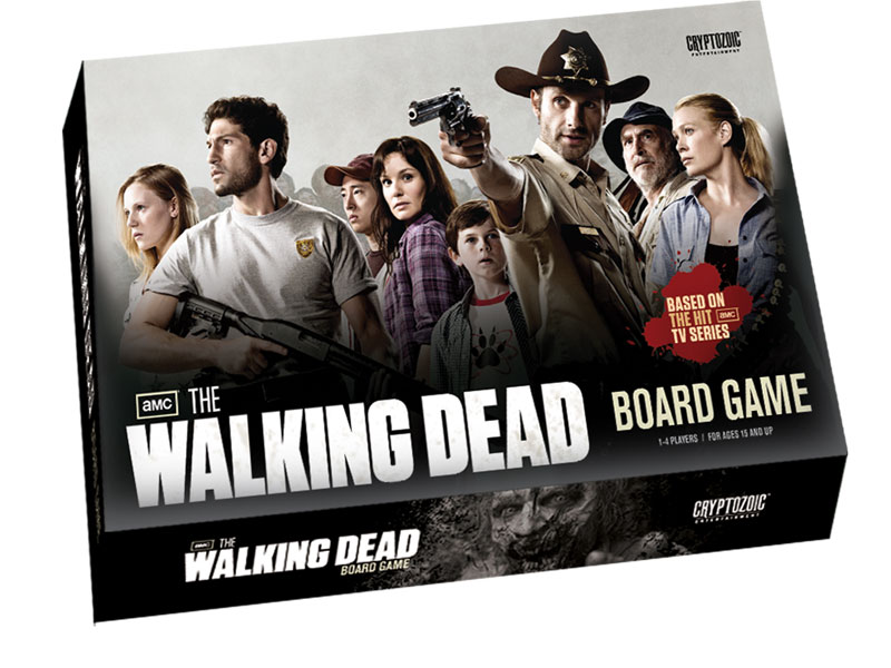 Cryptozoic entertainment the walking dead tv - Zombie side gioco da tavolo ...