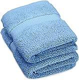 Pinzon Luxury 820-Gram Washcloths - Set of 2, Marine