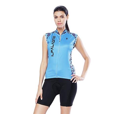 YGBH Ciclismo Jersey Conjunto de Mujer Traje de ...