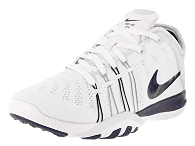c24f180b96df Nike Women s Free Tr 6 White Midnight Navy Pr Pltnm Training Shoe 10 Women  US