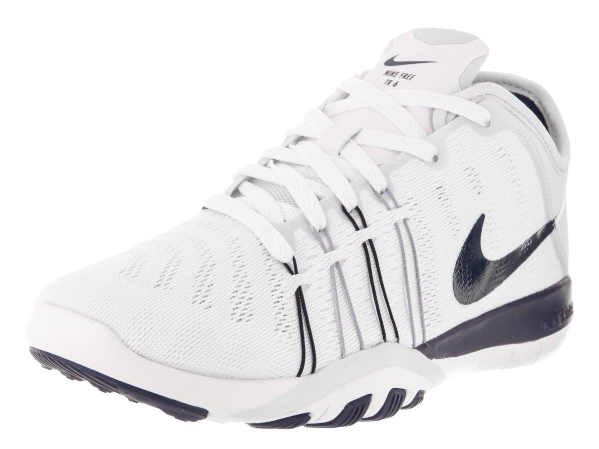 Scarpe da allenamento Nike Free Tr 6 White / Midnight Navy Pr Pltnm 10 da donna