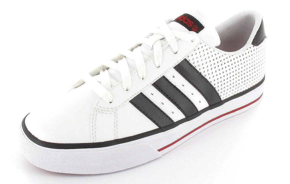 Adidas - SE Daily Vulc Struc - U45426 - Farbe  Weiß-Schwarz - Größe  47.3  | Guter weltweiter Ruf