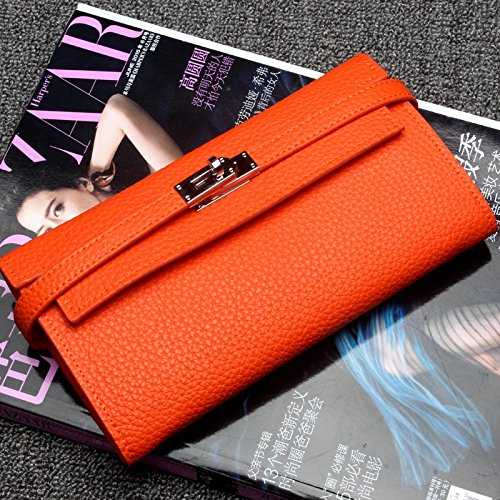 2018 New Womens Wallet First Layer Leather Long Leather Wallet HHF Purses /& Wallets Large Capacity Wallet Clutch Purse