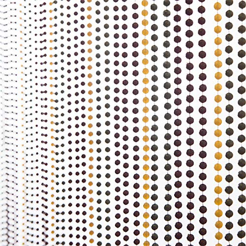 (6FT Multi-Color Faux Metal Ball Beaded)
