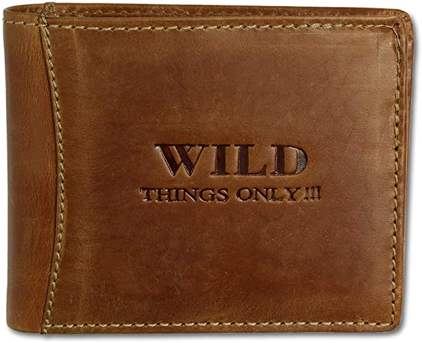 Bag Street Leder Geldbörse Geldbeutel Herren Portemonnaie Brieftasche