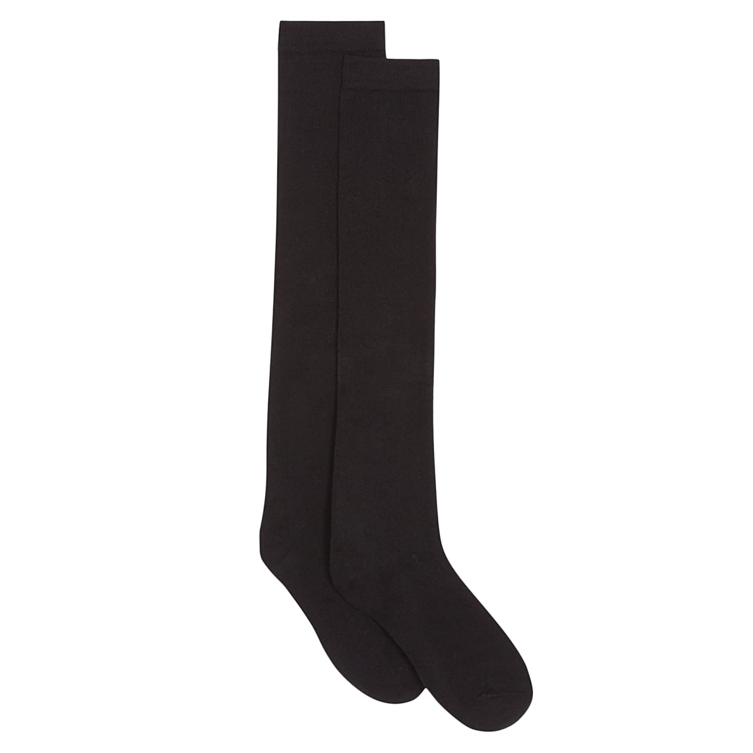 Debenhams Kids Girls' Pack of Two Black Over The Knee Socks