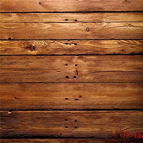 GoHeBe 10x10ft Wooden Theme Pictorial Cloth Customized Photography Backdrop Background Studio Prop TE45a