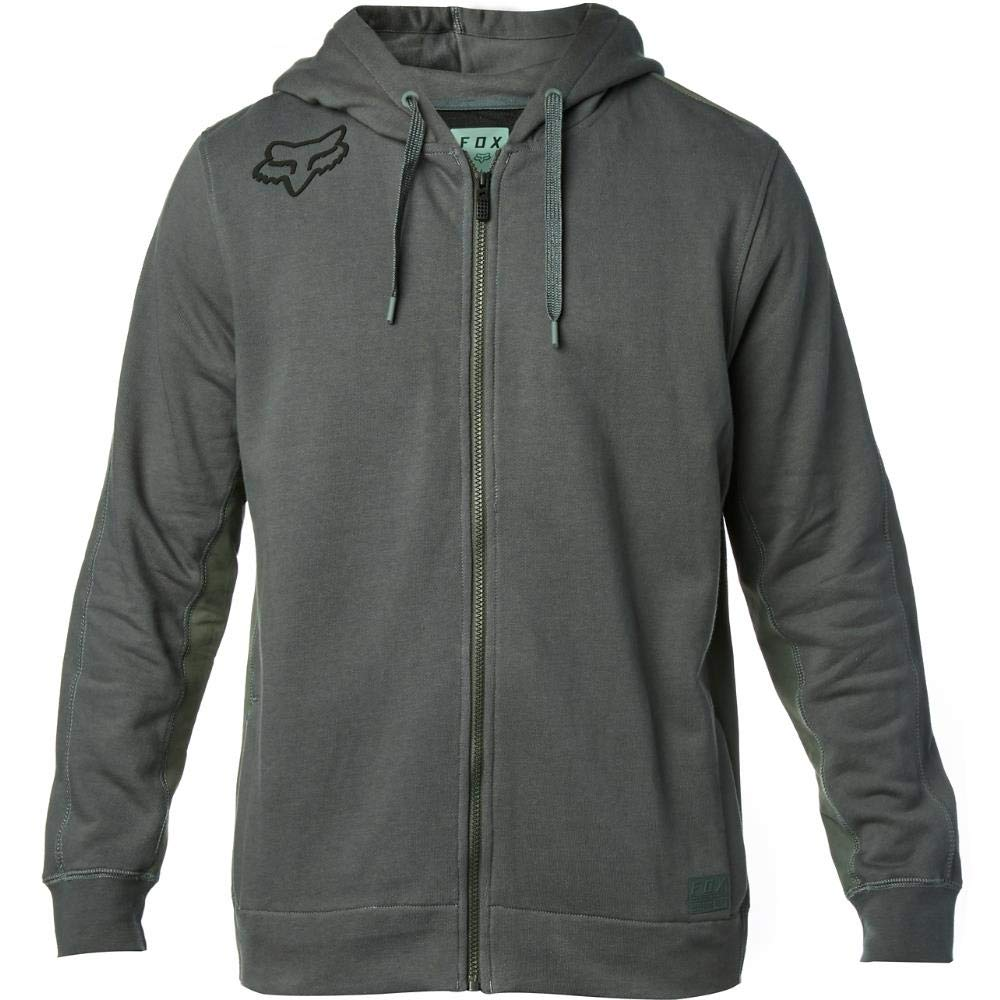 Fox Fleece Zip-Hoody 360 Dunkelgrün