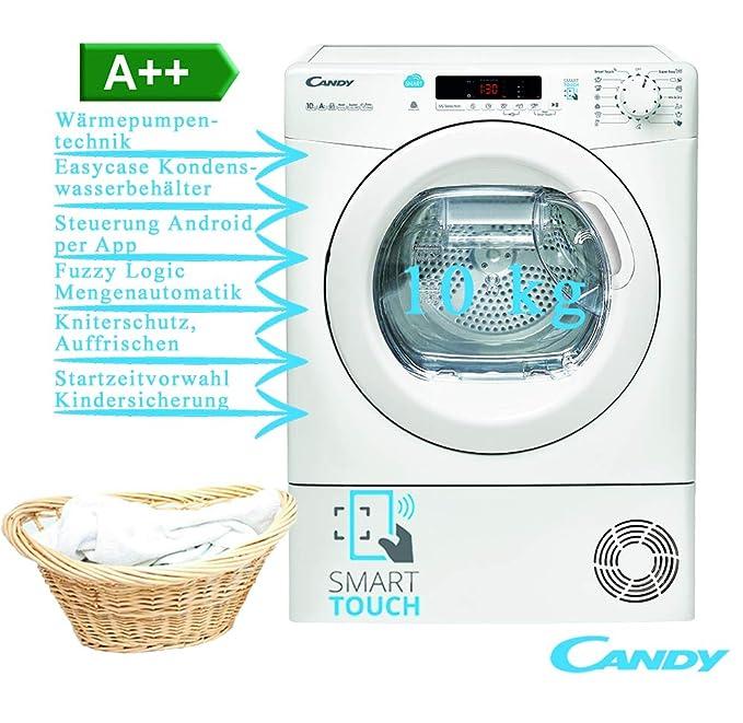 Secadora CS H10A2DE-S: 375.1: Amazon.es: Grandes electrodomésticos
