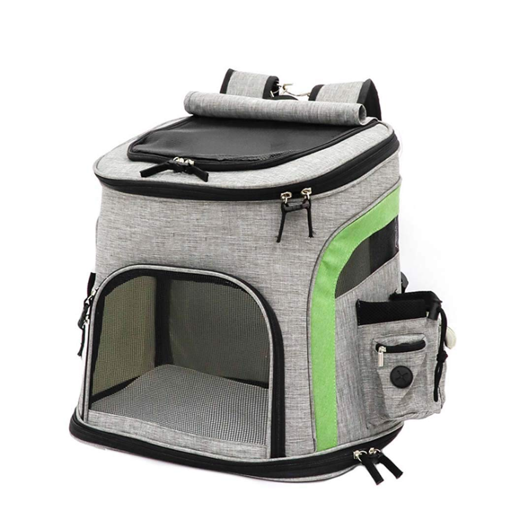 NO1 Dog Carrier Backpack, Pet Carrier Bag with Mesh for Small Dogs Cats Puppies, Comfort Cat Backpack Bag Airline Approved for Hiking Travel Camping Outdoor,NO1