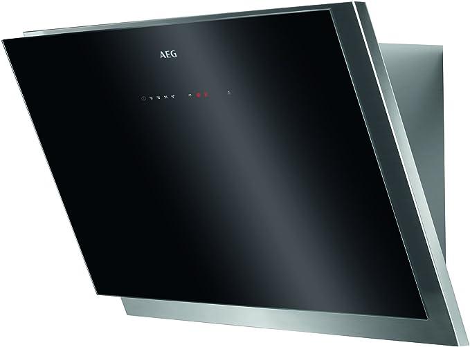 AEG - Campana extractora de pared sin cabeza 60 cm/max. 700 m³h Negro y acero inoxidable.: Amazon.es: Grandes electrodomésticos