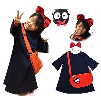 Amazon.com: majommusume Kiki Vestido estilo Cosplay Los ...