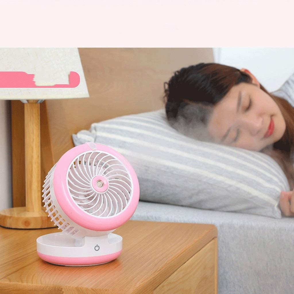 Black Pink SCDFS Mini Classic Personal Vintage Air Circulator Fan Blue Color : Blue