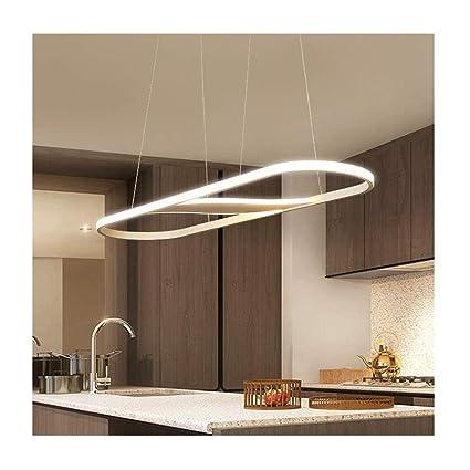 A-ZHP Lámparas de araña Colgante de luz Moderno Simple LED ...