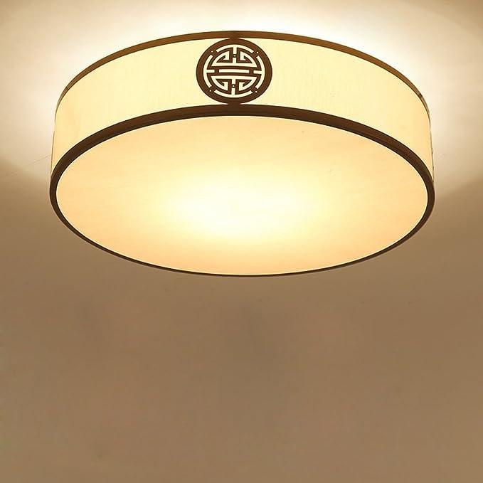Nuevos lámpara antigua redondo retro dormitorio hoteles ...