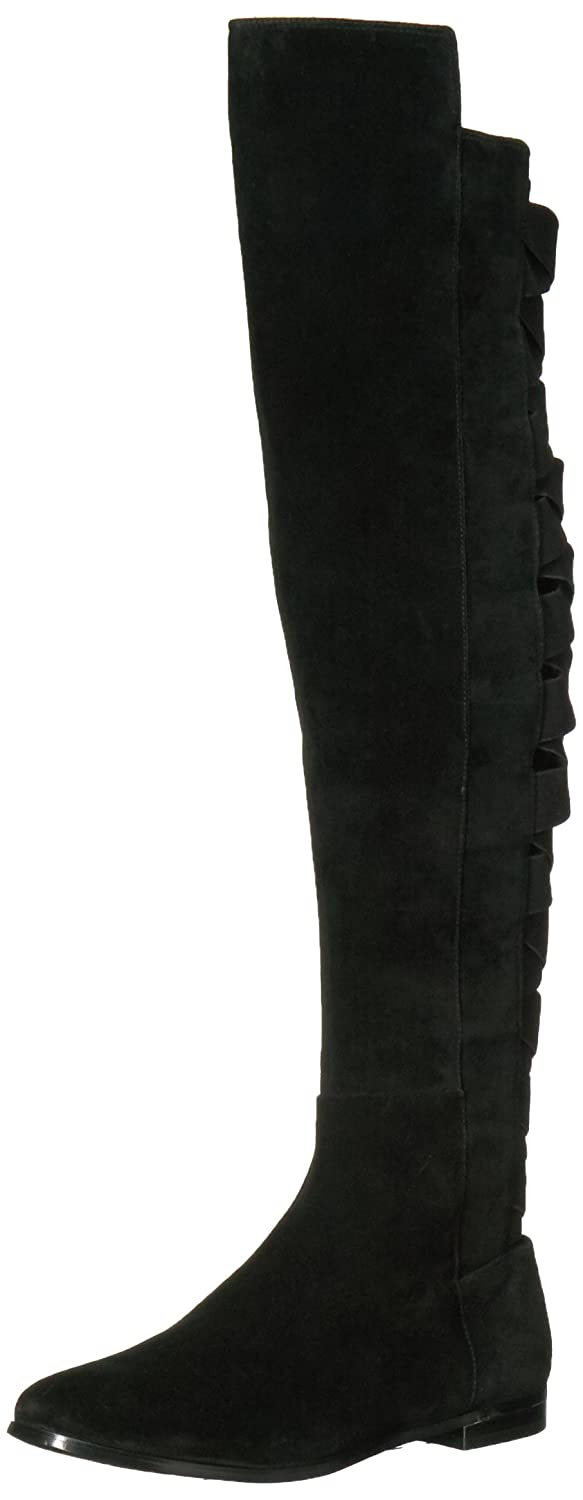 Nine West Women's Eltynn B06XHQ6DKY 5 B(M) US|Black Suede