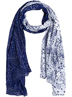 9bf6c3bf7 Pepe Jeans Foulard Delft Bleu Homme U Bleu: Amazon.fr: Vêtements et ...