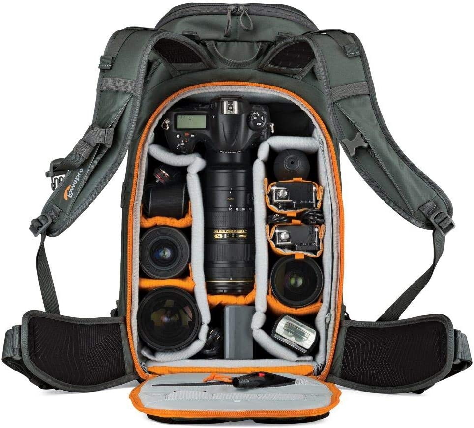 XL Pro Grade Outdoor Adventure Camera Backpack. Lowepro Whistler BP 450 AW