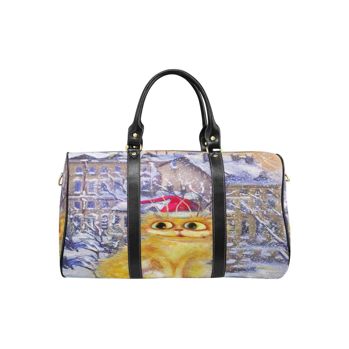 InterestPrint Carry-on Garment Bag Travel Bag Duffel Bag Weekend Bag Boy and Girl Wearing Hat