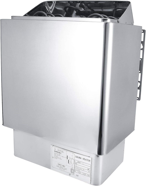 Rodipu Calentador de Sauna, Equipo de SPA, Estufa de baño de 3KW 220 V, para Sala de Sauna, Sala de Vapor, baño, SPA