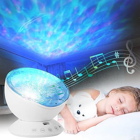 Projektor Kinder Poppypet Ozeanwelle Projektor Lampe Licht Schlaf Nachtlicht Lampen Fur Baby Kinder Zimmer Schlafzimmer Hochzeit Geburtstag Parteien Amazon De Kuche Haushalt