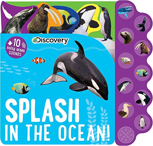 Discovery: Splash in the Ocean! (10-Button Sound Books) (Book Whale Interactive)
