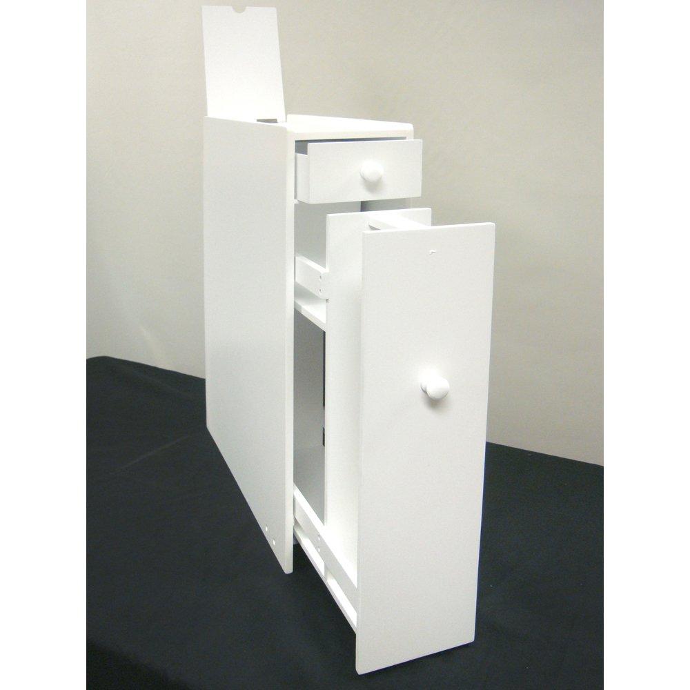 . Amazon com  Proman Products Bathroom Floor Cabinet  Kitchen  amp  Dining