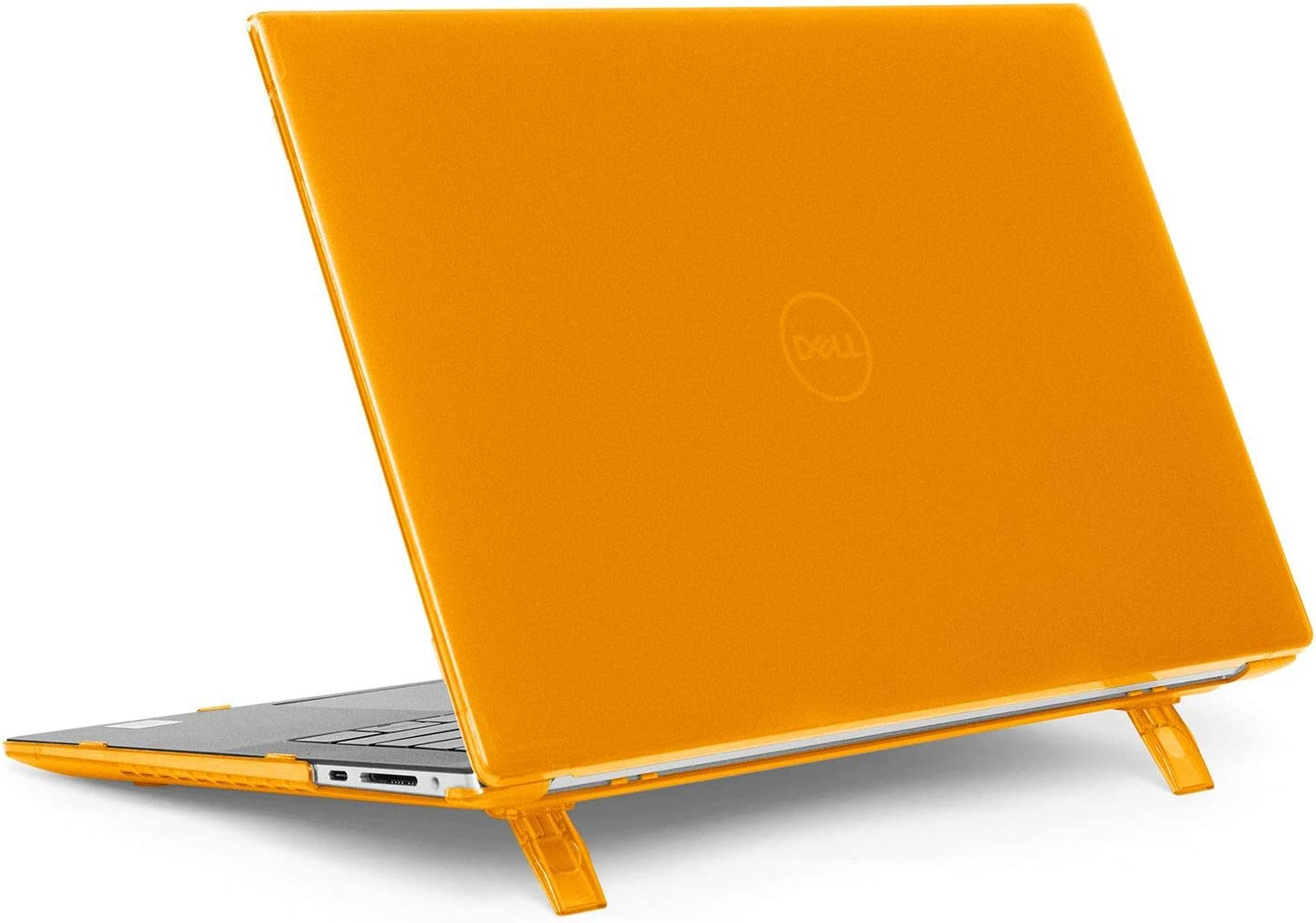 """mCover Hard Shell CASE for New 2020 15.6"""" Dell XPS 15 9500 / Precision 5550 Series Laptop Computer (Orange)"""