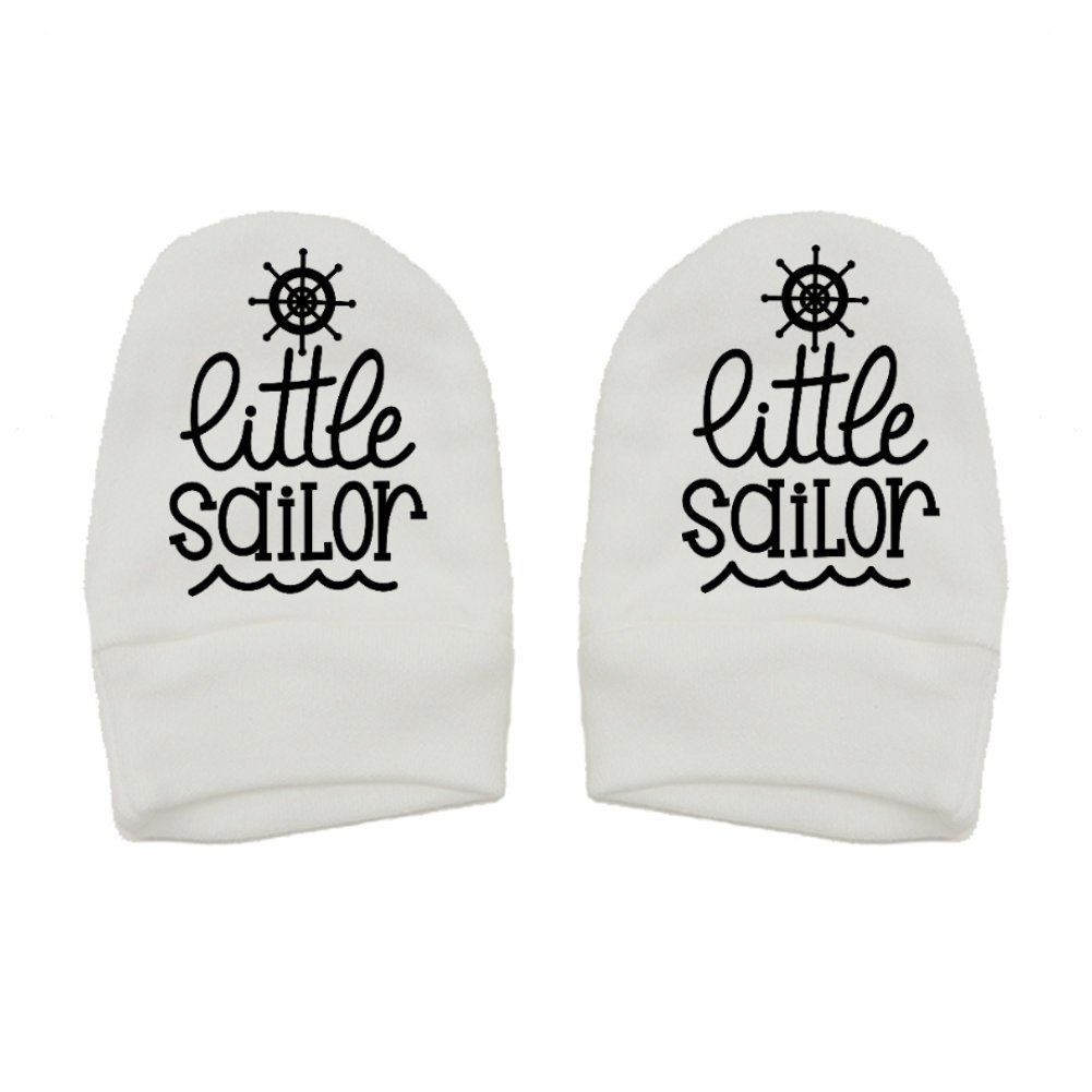 Mashed Clothing Unisex-Baby Thick Premium Thick /& Soft Baby Mittens Fun /& Trendy Little Sailor