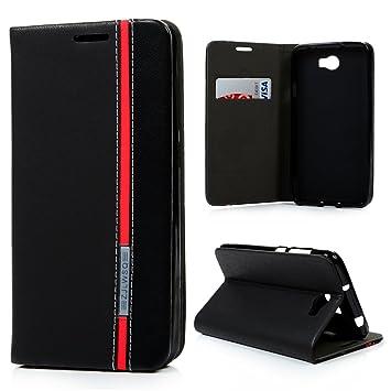 Lanveni Huawei Y5 II Hüllen Schwarz Jeans Muster: Amazon.de: Elektronik