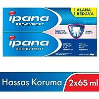 Ipana Pro-Expert Diş Macunu Hassas Koruma (65 ml + 65 ml) 1 Alana 1 Bedava Paketi