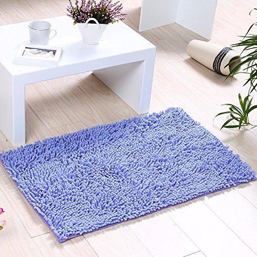 NSSBZZThe carpet of the door mat bedroom kitchen bathroom mat fireplace bath water mat 50 80cm Blue/a by NSSBZZ