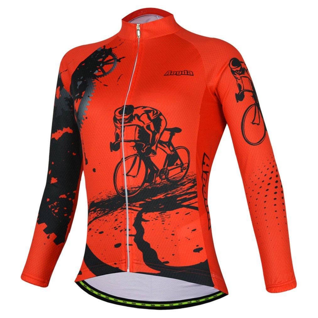 2017レディース半袖aogda 3dシリコンパッド付きバイク自転車サイクリングジャージーGirls SkinsuitsシャツBib Shorts Clothing Wear d914 B0716DZJ1J A Shirt|M A Shirt