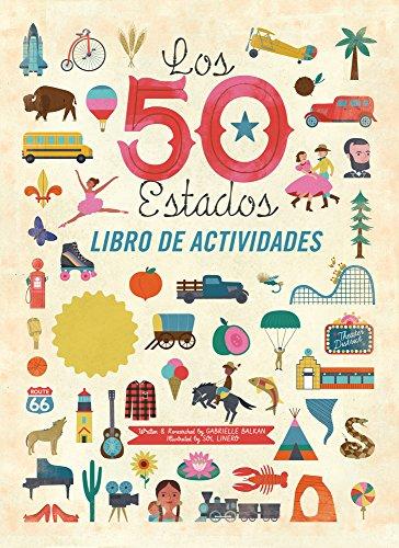 Los 50 estados: Libro de actividades (Spanish Edition)