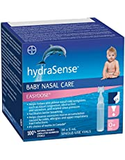 hydraSense Easydose Single-Use Vials for Babies, Baby Nasal Care, 30 Count