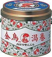 金鳥の渦巻 蚊取り線香 30巻 缶