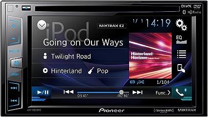 Amazon.com: Pioneer AVHX3800BHS 2-DIN receptor con pantalla ...
