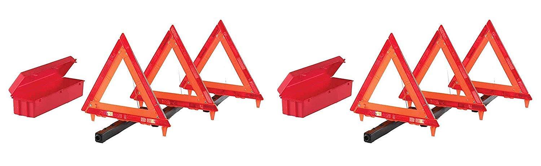 Cortina 95-03-009 3 Piece Triangle Warning Kit (Pack of 2)