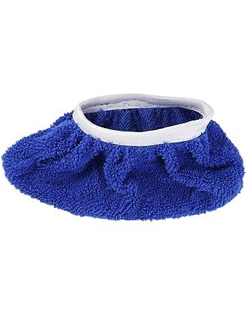 Duhe Cubiertas de Zapatos Fregar el Suelo, un par de absorbentes Antideslizantes de Fibra Ultra